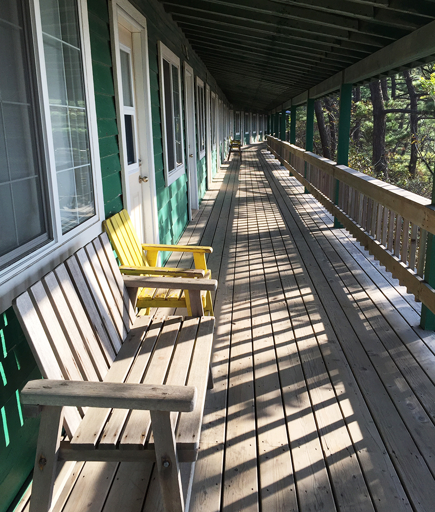 Retreat porch