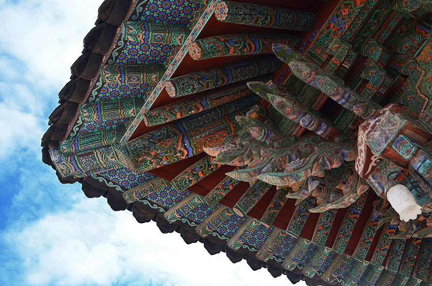 Bulguksa Hanok roof