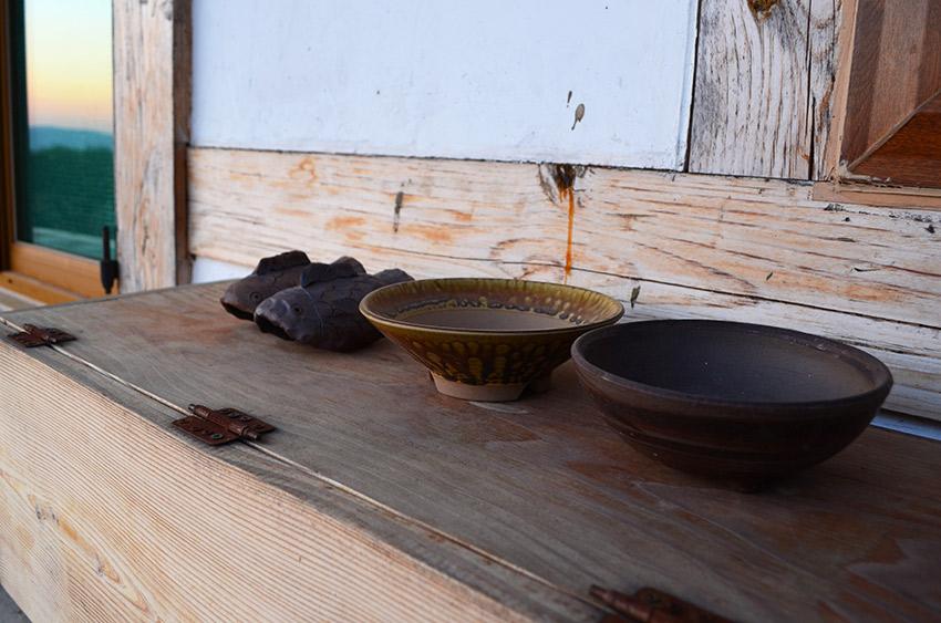 Korean fish and bowls