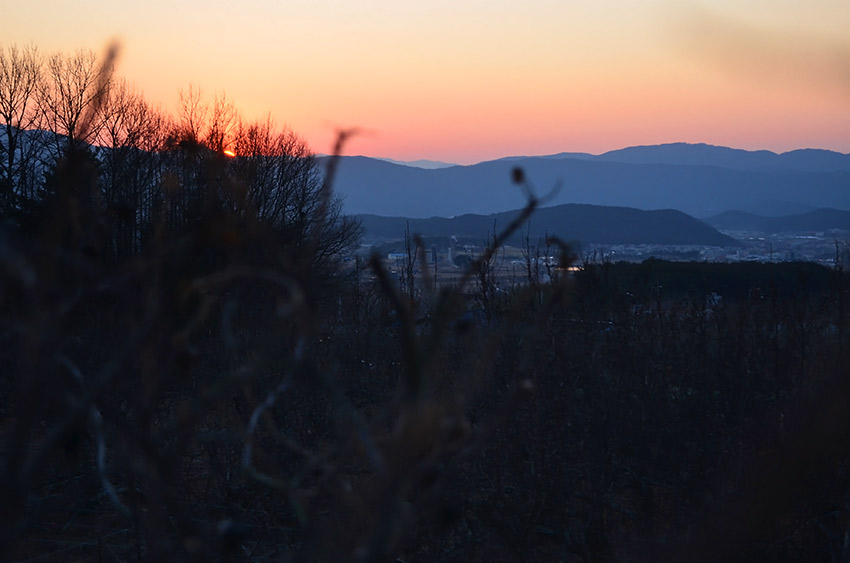 Gyeongju sunset