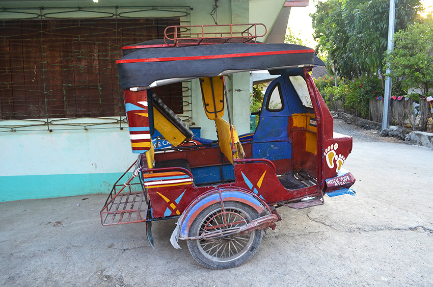 Philippines bike taxi