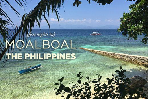 Five Nights in Moalboal, Cebu, Philippines
