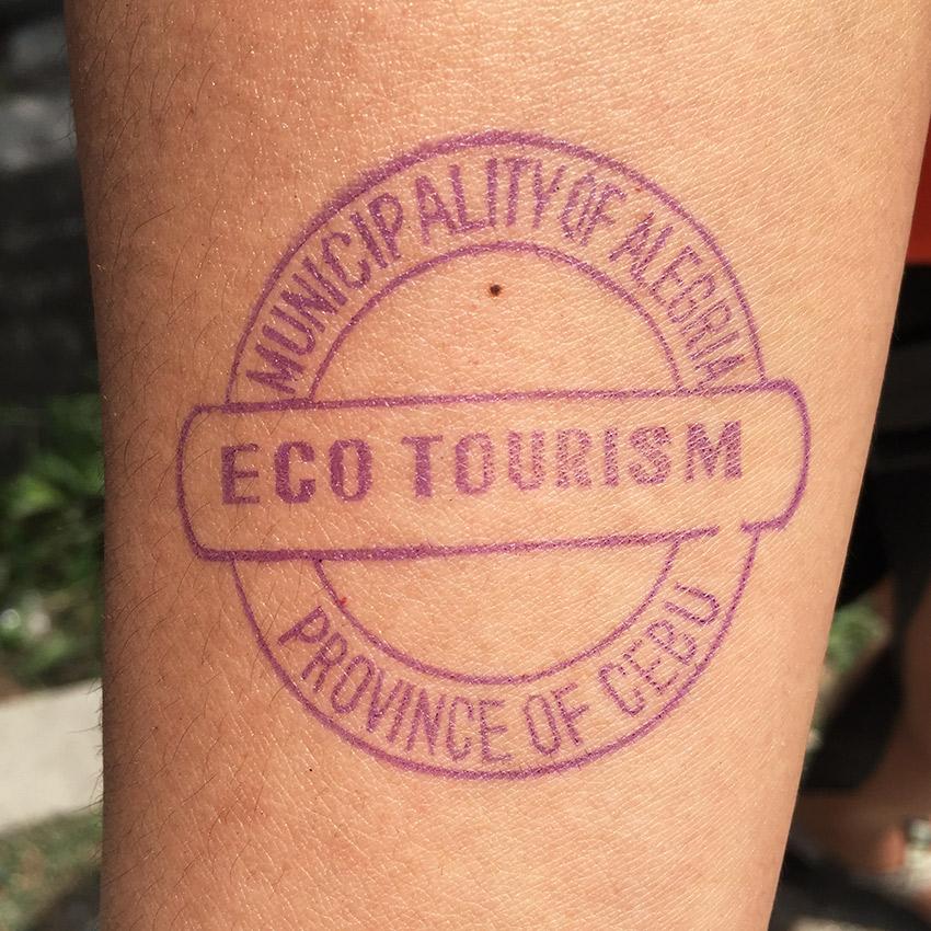 Cebu eco tourism stamp