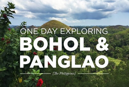 One Day Exploring Bohol & Panglao
