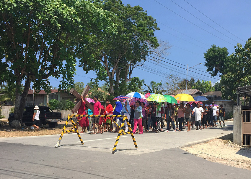 Holy week parade