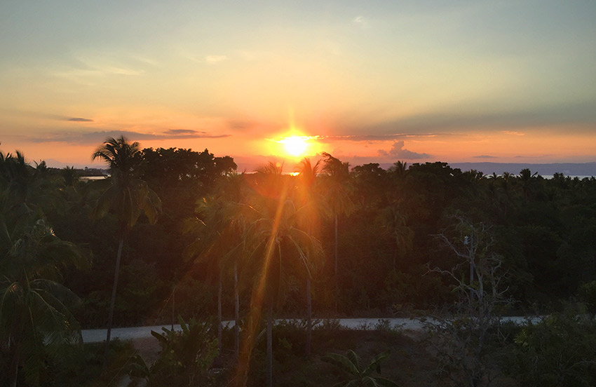 Sunset in Panglao