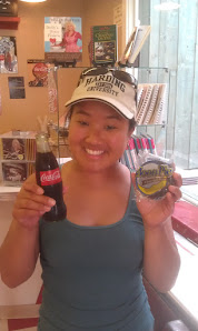 Free moon pie and coke at Dollywood