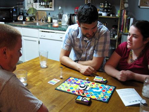 Playing games at the Newburns