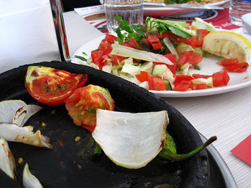 Eating out for the first time in Turkey