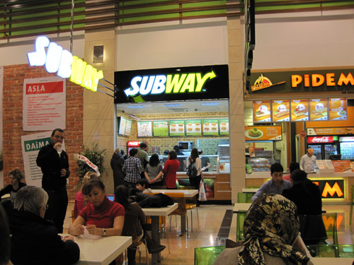 Subway in Kentpark