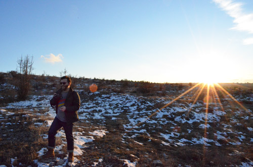Hiking in the METU forest