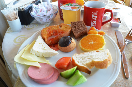 Sur Hotel Turkish breakfast