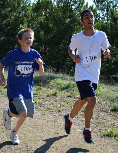 First and second place runners