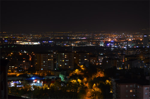 Ankara at night
