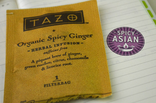 Spicy Ginger, Spicy Asian