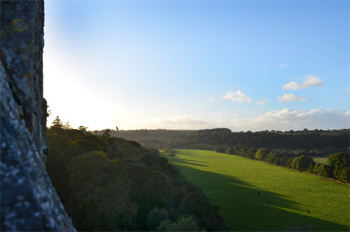 View from the Blarney Castle