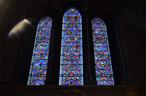 St. Patrick Cathedral stained glass
