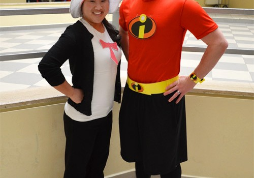 Cat in the Hat and Mr. Incredible