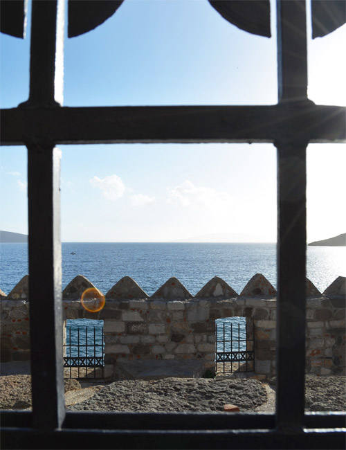 View from Bodrum Castle Museum