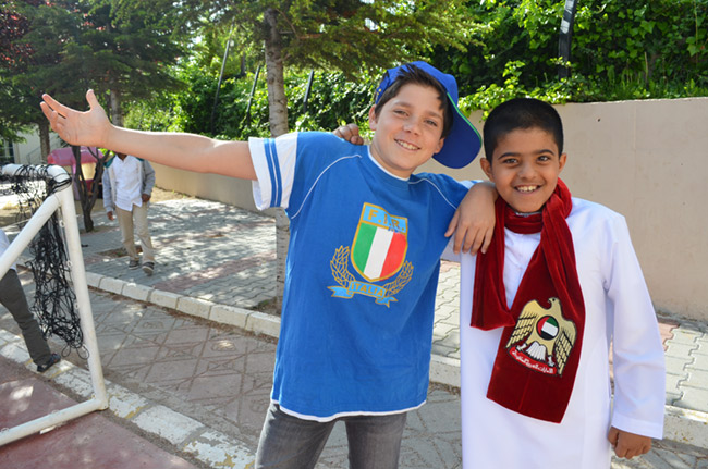Italy and UAE