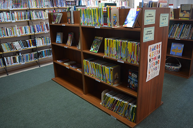 Featured books and step books