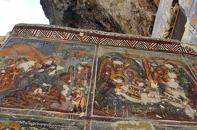 Rock Church frescos