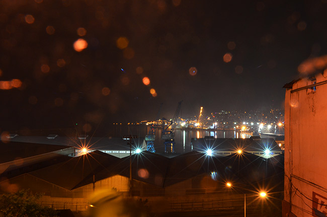Trabzon at night