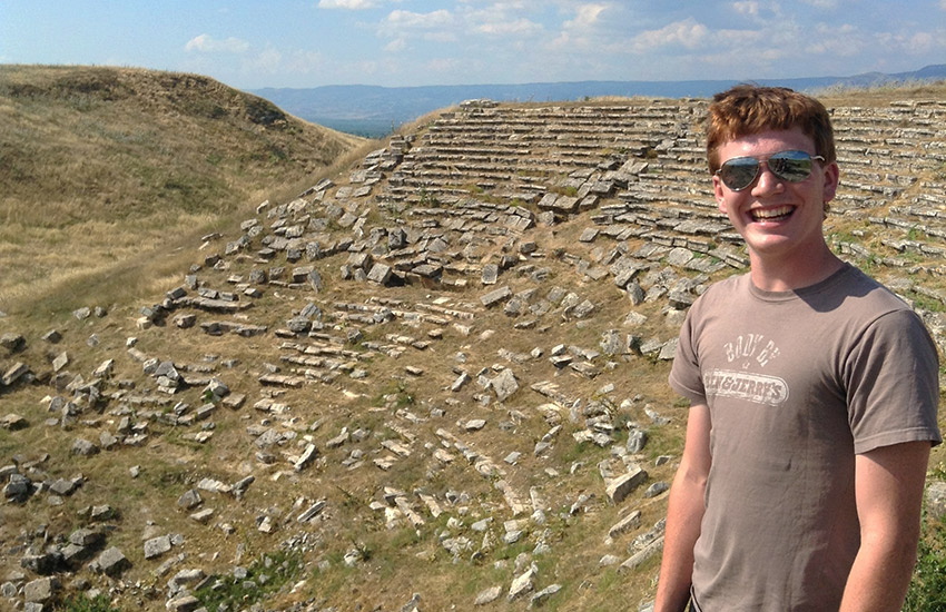Sam at the Laodicea theater