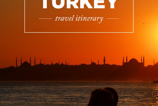 Two week Turkey itinerary