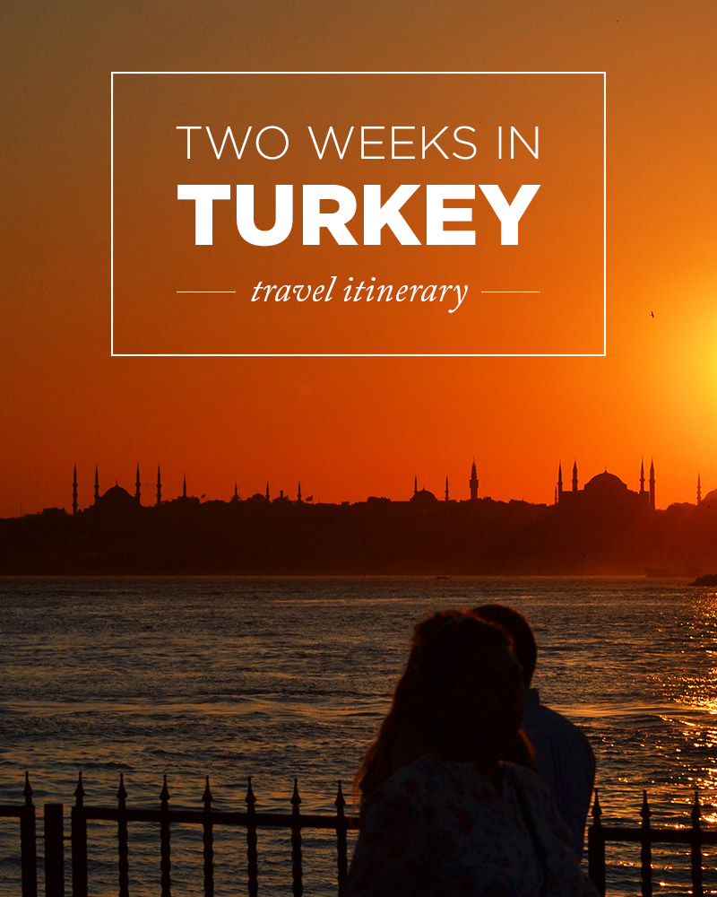 Turkey is an amazing place to explore. We lived there for three years and loved it. This is the two week itinerary we used to show our family around the country.