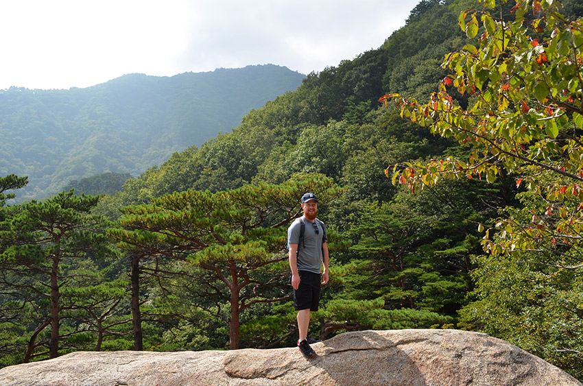 David in Seoraksan National Park