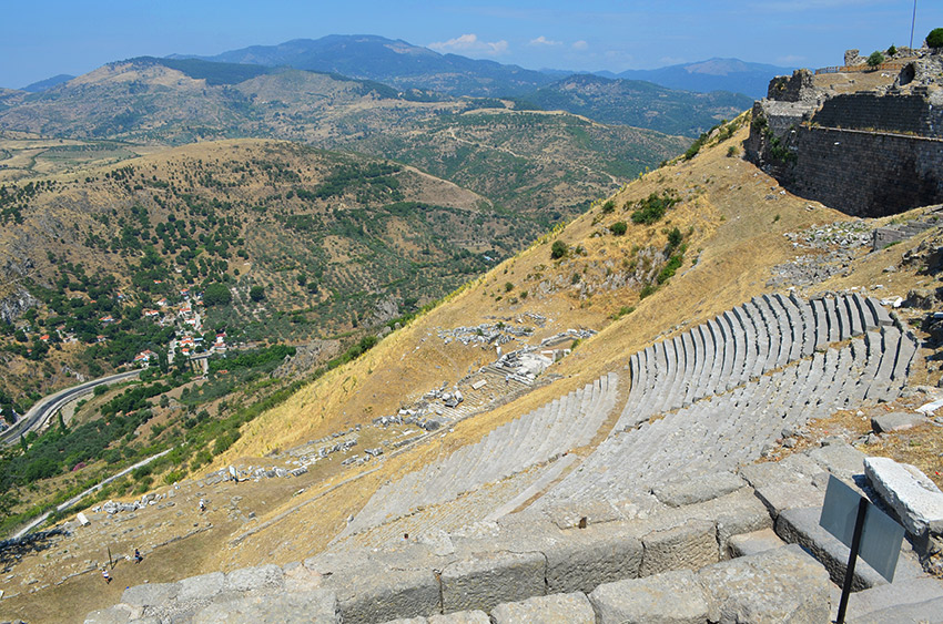 Pergamum theater steps