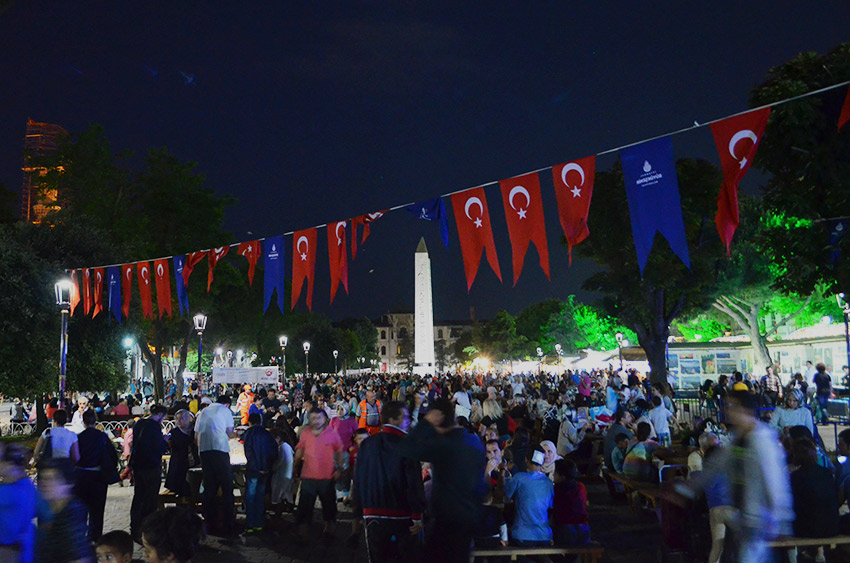Sultanahmet during Ramazan
