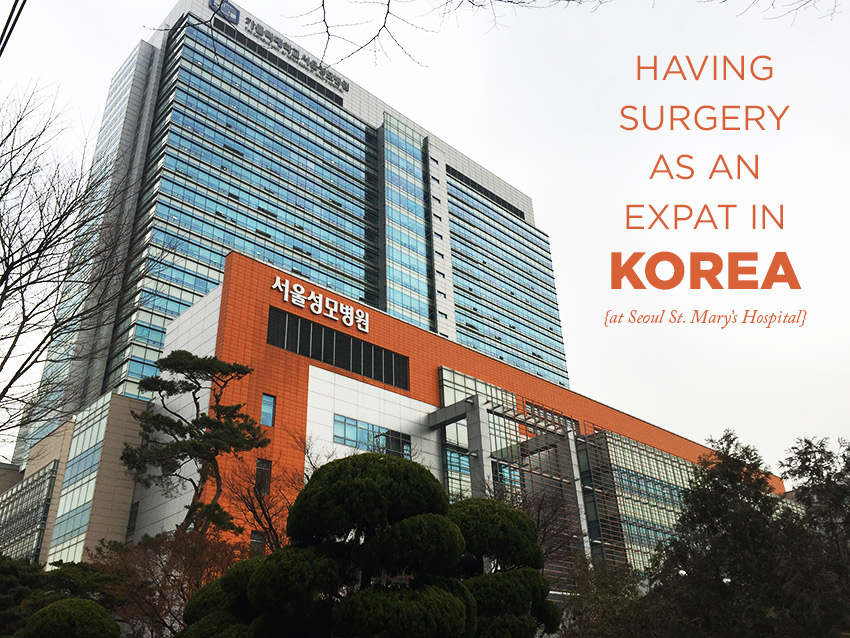 Having surgery as an expat in Korea