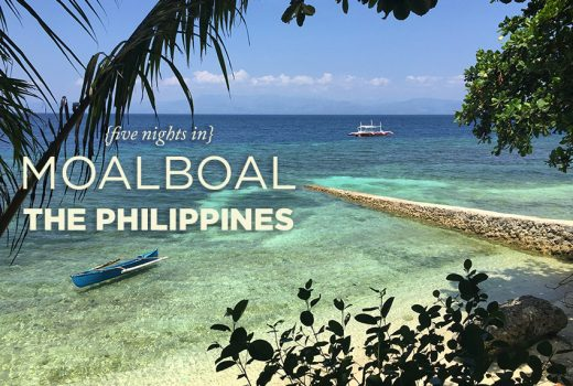 Five Nights in Moalboal, Cebu, Philippines